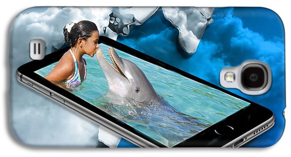 Swimming With The Dolphins Galaxy S4 Case