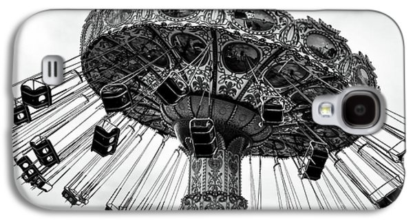 Swinging At Seaside Heights Mono Galaxy S4 Case