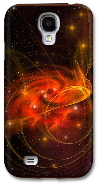 Swirling Galaxy Galaxy S4 Case