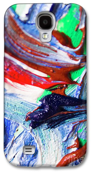 Swirls Of Paint Colors Galaxy S4 Case by Jorgo Photography - Wall Art Gallery
