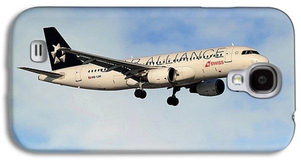 Swiss Airbus A320-214 Galaxy S4 Case