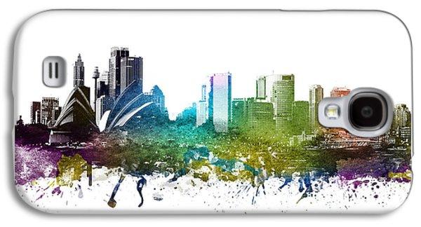 Sydney Cityscape 01 Galaxy S4 Case