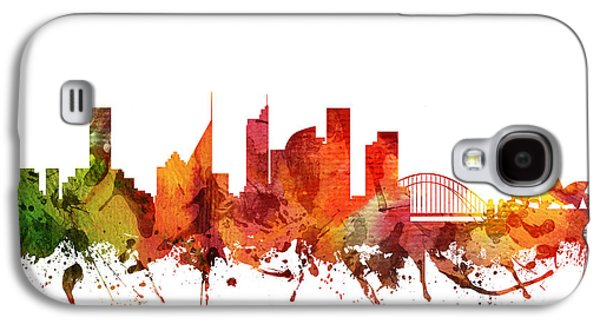 Sydney Cityscape 04 Galaxy S4 Case by Aged Pixel