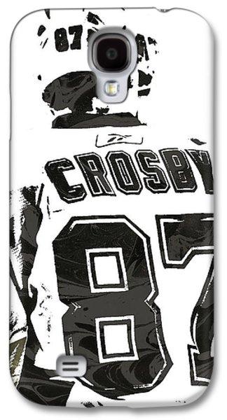 Sydney Crosby Pittsburgh Penguins Pixel Art 2 Galaxy S4 Case by Joe Hamilton