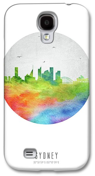 Sydney Skyline Ausy20 Galaxy S4 Case by Aged Pixel