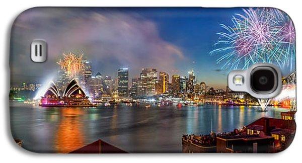 Sydney Sparkles Galaxy S4 Case by Az Jackson