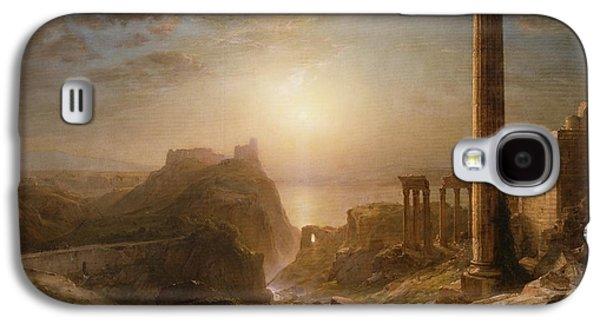 Syria By The Sea Galaxy S4 Case by Frederic Edwin Church