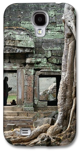 Ta Prohm Prayers Galaxy S4 Case by Jessica Rose