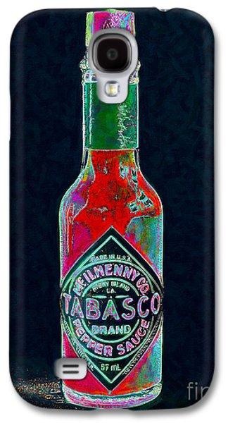 Tabasco Sauce 20130402 Galaxy S4 Case by Home Decor