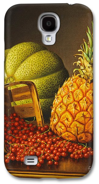 Tabletop Still Life With Fruit Galaxy S4 Case