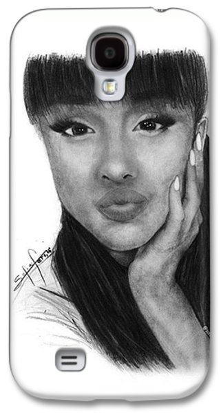 Ariana Grande Drawing By Sofia Furniel Galaxy S4 Case