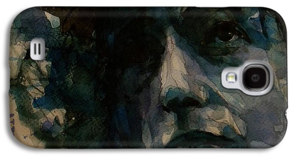 Bob Dylan Galaxy S4 Case - Tagged Up In Blue- Bob Dylan  by Paul Lovering