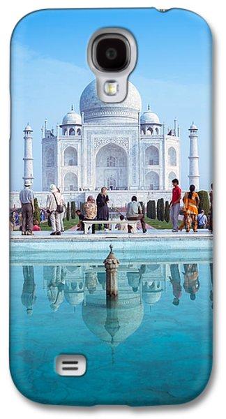 Taj Mahal  Galaxy S4 Case by Nila Newsom