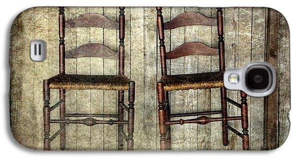 Take A Seat Galaxy S4 Case by Stephanie Calhoun