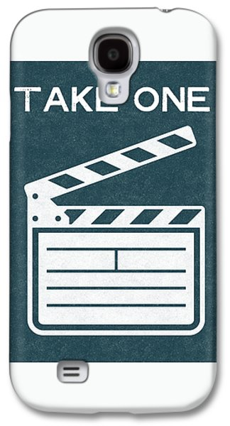 Take One- Art By Linda Woods Galaxy S4 Case
