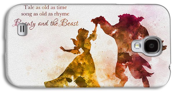 Tale As Old As Time Galaxy S4 Case by Rebecca Jenkins