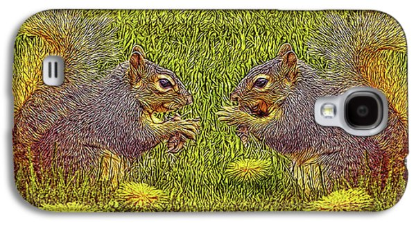 Tale Of Two Squirrels Galaxy S4 Case