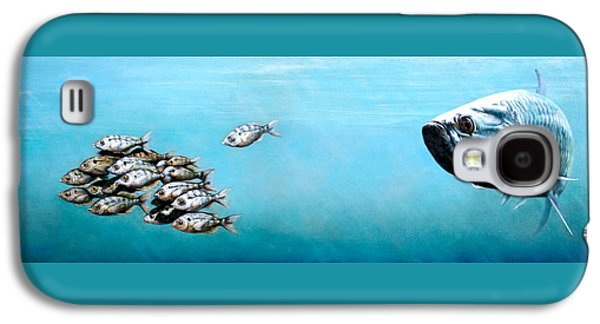 Tampa Bay Tarpon Galaxy S4 Case by Joan Garcia