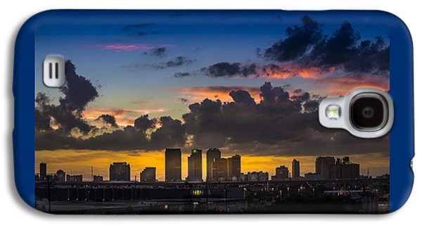 Tampa Sunset Galaxy S4 Case by Marvin Spates