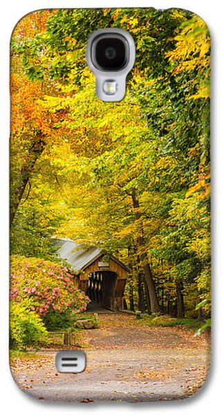 Tannery Hill Covered Bridge Galaxy S4 Case