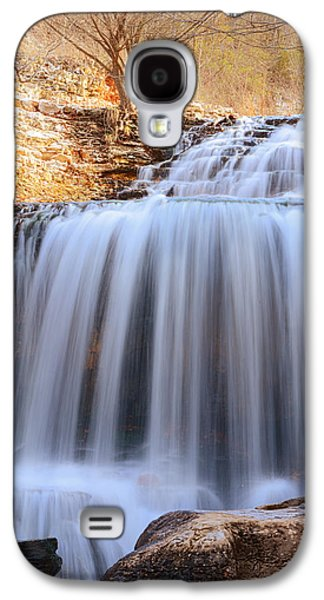 Tanyard Creek Waterfall Bella Vista Arkansas Galaxy S4 Case