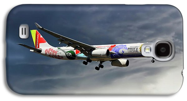 Tap Portugal Airbus A330-343 Galaxy S4 Case