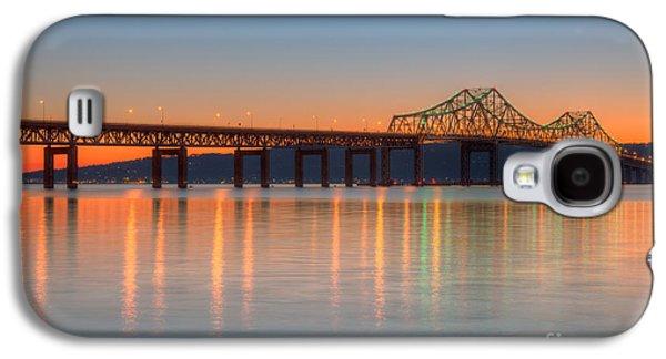 Tappan Zee Bridge After Sunset II Galaxy S4 Case