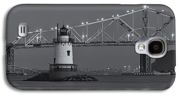 Tarrytown Lighthouse And Tappan Zee Bridge At Twilight II Galaxy S4 Case