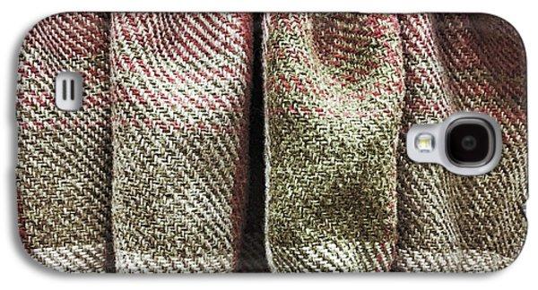 Tartan Curtain Galaxy S4 Case by Tom Gowanlock