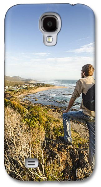 Tasmania Bushwalking Tourist Galaxy S4 Case by Jorgo Photography - Wall Art Gallery