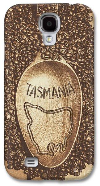 Tasmania Coffee Beans Galaxy S4 Case