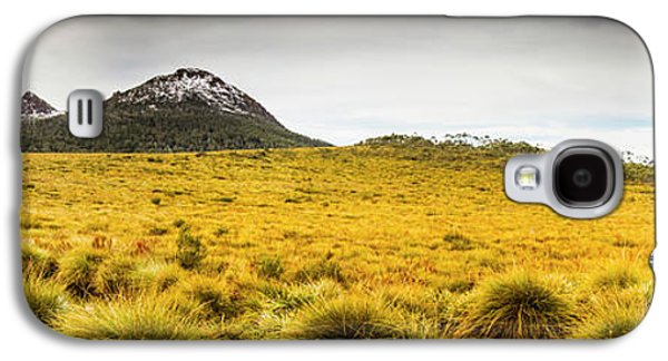 Tasmania Mountains Of The East-west Great Divide  Galaxy S4 Case by Jorgo Photography - Wall Art Gallery