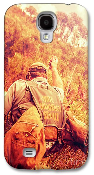Tasmania Search And Rescue Ses Volunteer  Galaxy S4 Case by Jorgo Photography - Wall Art Gallery