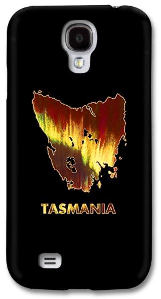 Tasmania - Southern Lights - Aurora Hunters Galaxy S4 Case by Anastasiya Malakhova