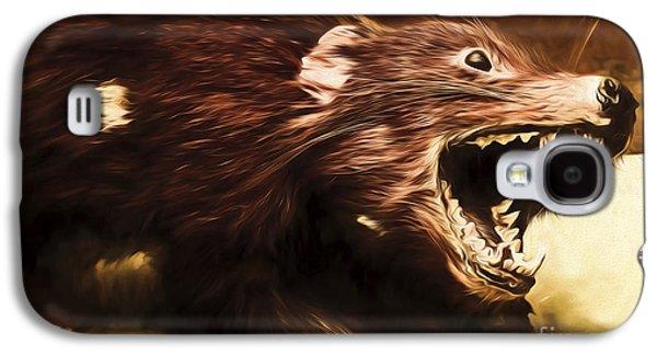 Tasmanian Devil Digital Painting Galaxy S4 Case by Jorgo Photography - Wall Art Gallery