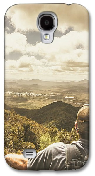 Tasmanian Hiking View Galaxy S4 Case by Jorgo Photography - Wall Art Gallery