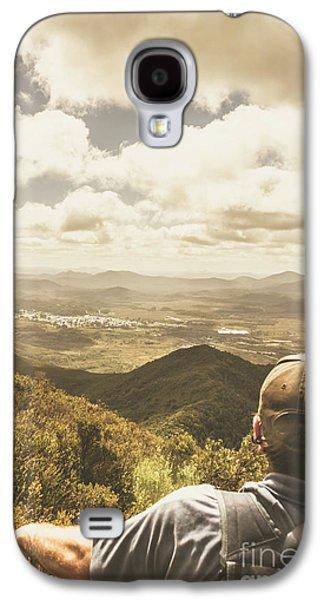 Tasmanian Hiking View Galaxy S4 Case by Jorgo Photography - Wall Art Gallery