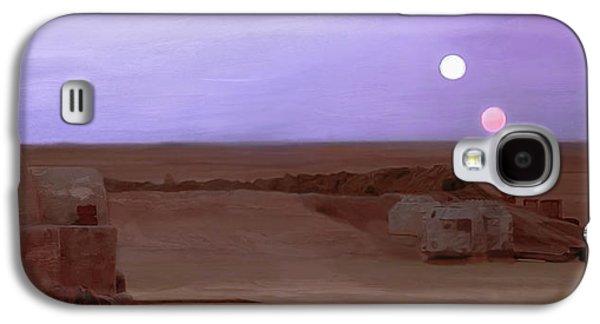 Tatooine Sunset Galaxy S4 Case