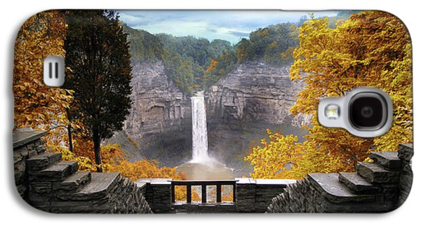 Taughannock In Autumn Galaxy S4 Case