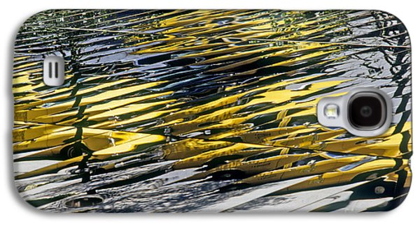 Taxi Abstract Galaxy S4 Case by Tony Cordoza