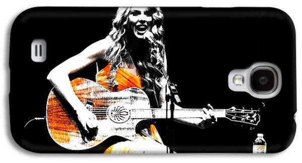 Taylor Swift 9s Galaxy S4 Case by Brian Reaves