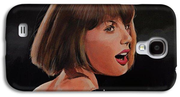Taylor Swift Galaxy S4 Case by Bill Dunkley