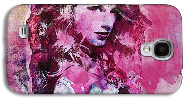 Taylor Swift - Oncore Galaxy S4 Case by Sir Josef - Social Critic - ART