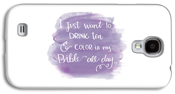 Tea And Color Galaxy S4 Case by Nancy Ingersoll