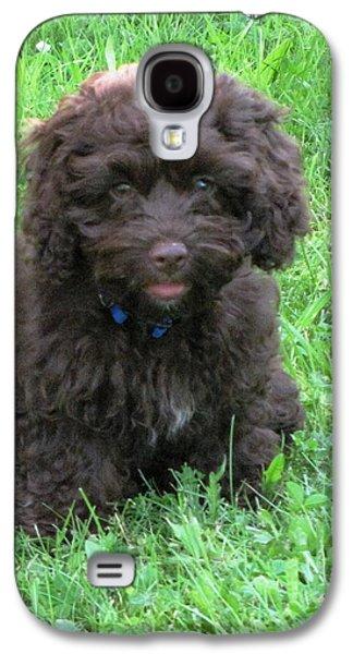 Tea Cup Cocker Spaniel Puppy Galaxy S4 Case by Melissa Parks