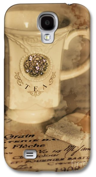 Tea Cups And Vintage Stains Galaxy S4 Case by Jorgo Photography - Wall Art Gallery