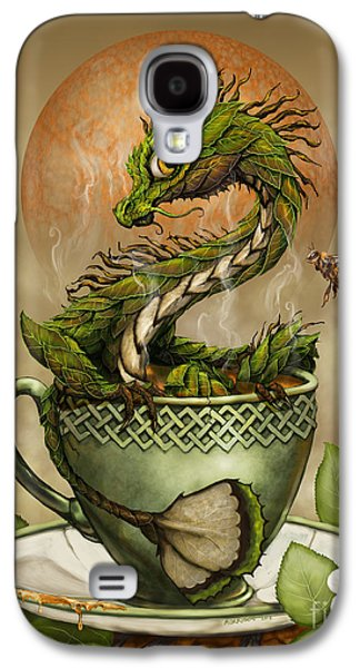 Tea Dragon Galaxy S4 Case by Stanley Morrison