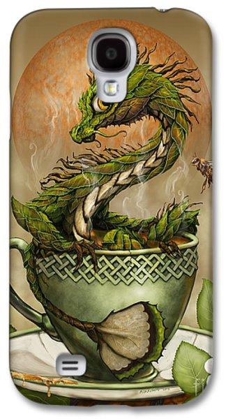 Dragon Galaxy S4 Case - Tea Dragon by Stanley Morrison