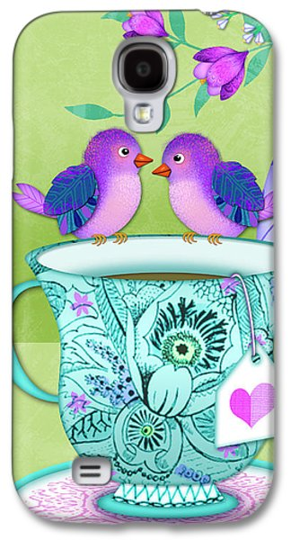 Tea For Two Galaxy S4 Case