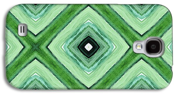 Tea Garden- Art By Linda Woods Galaxy S4 Case by Linda Woods
